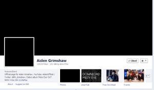 Aiden Grimshaw Facebook
